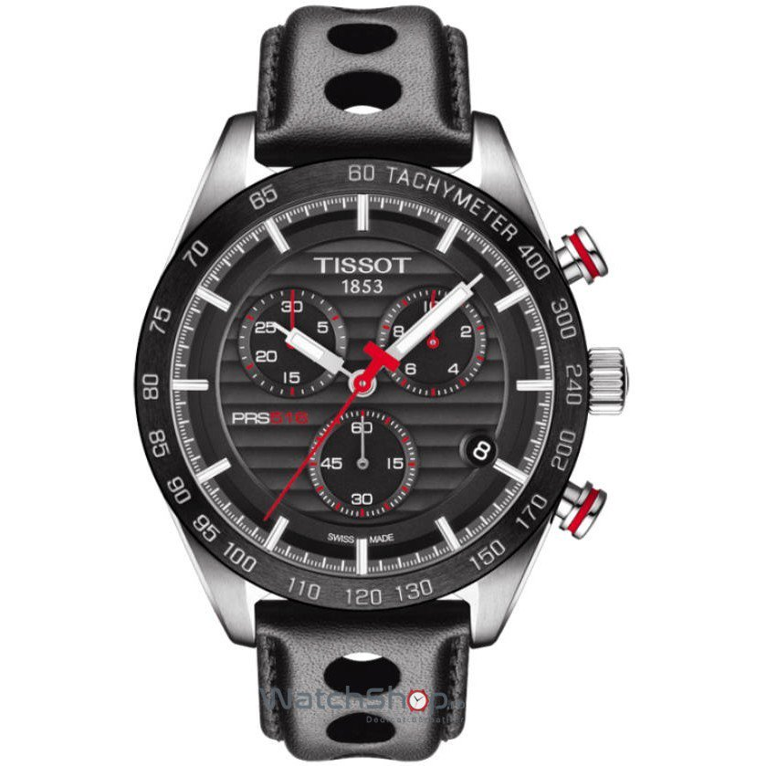 Ceas Tissot T-SPORT T100.417.16.051.00 PRS 516 Cronograf de mana pentru barbati