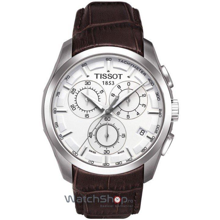 Ceas Tissot T-TREND T035.617.16.031.00 Couturier Quartz Cronograf de mana pentru barbati