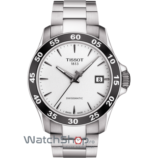 Ceas Tissot V8 SWISSMATIC T106.407.11.031.00 de mana pentru barbati