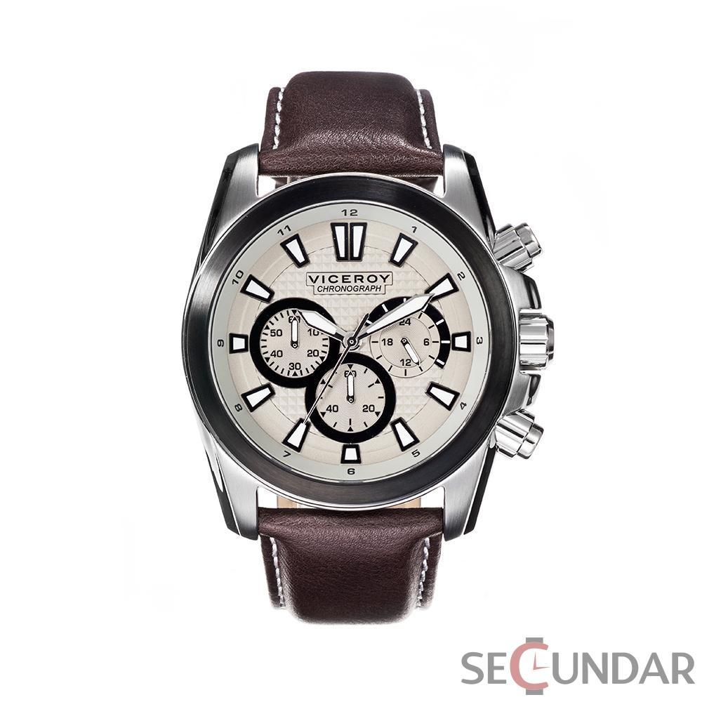 Ceas Viceroy Classic Chronograph 432345-17 Barbatesc de Mana Original