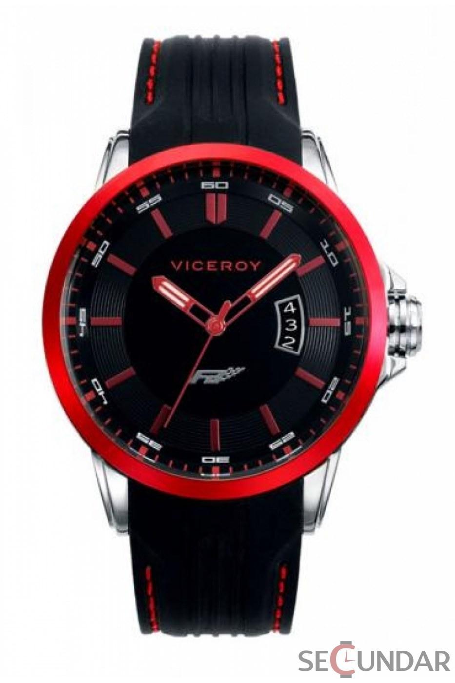 Ceas Viceroy Fernando Alonso 47821-77 Barbatesc de Mana Original