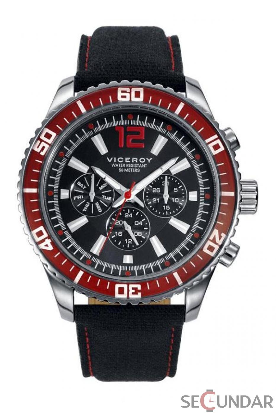 Ceas Viceroy Sportif 40435-55 Barbatesc de Mana Original