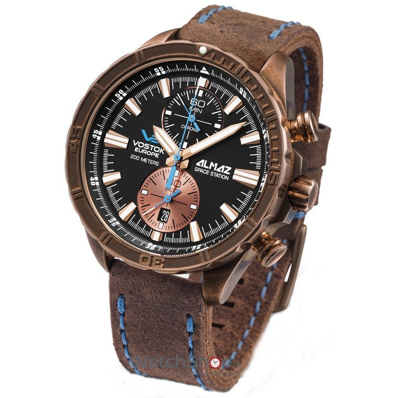 Ceas Vostok-Europe ALMAZ 6S11/320O266 Cronograf de mana pentru barbati