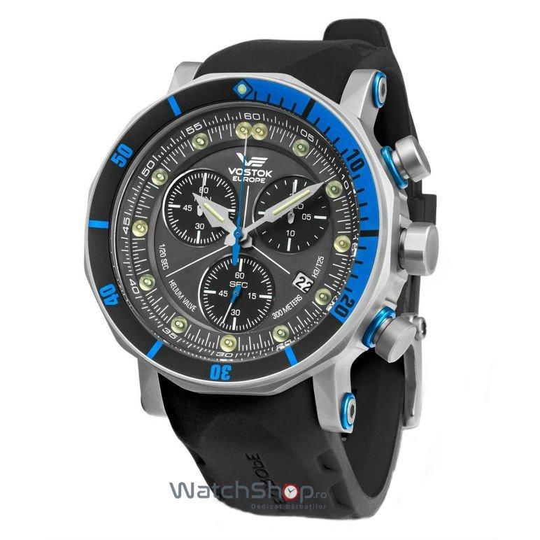 Ceas Vostok-Europe LUNOKHOD 2 6S30/6205213 Grand Chrono de mana pentru barbati