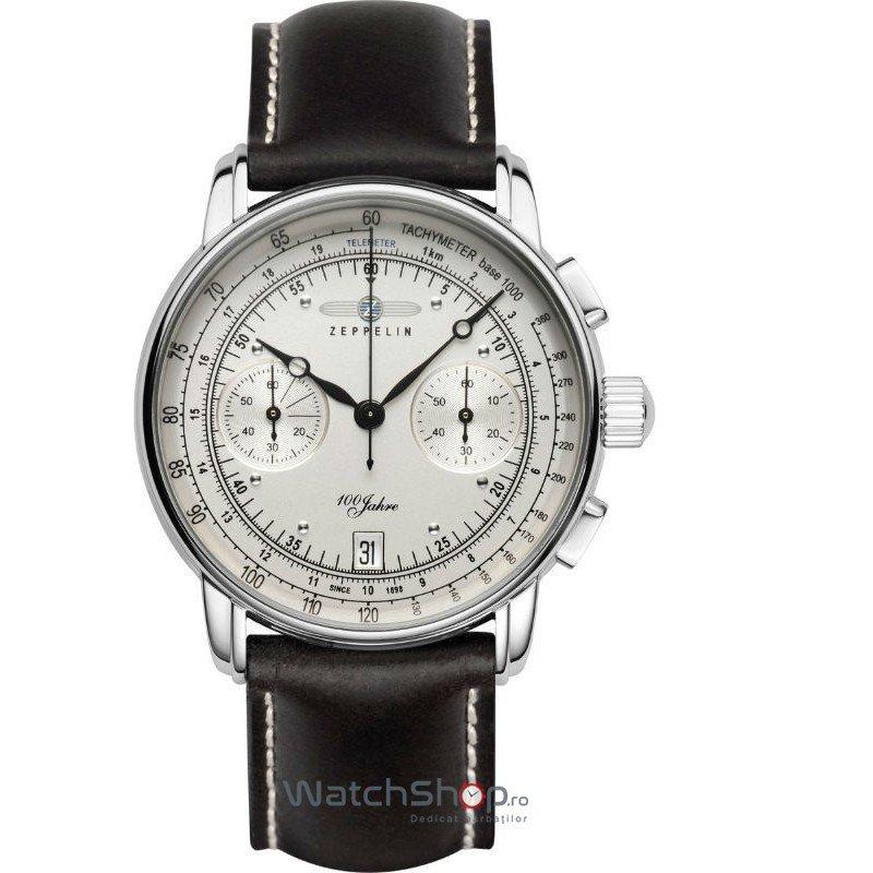 Ceas Zeppelin 100 YEARS 7670-1 Cronograf de mana pentru barbati