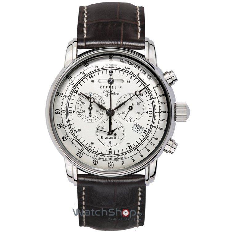 Ceas Zeppelin 100 YEARS 7680-1 Cronograf de mana pentru barbati