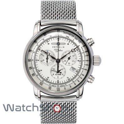 Ceas Zeppelin 100 YEARS 7680M-1 Cronograf de mana pentru barbati