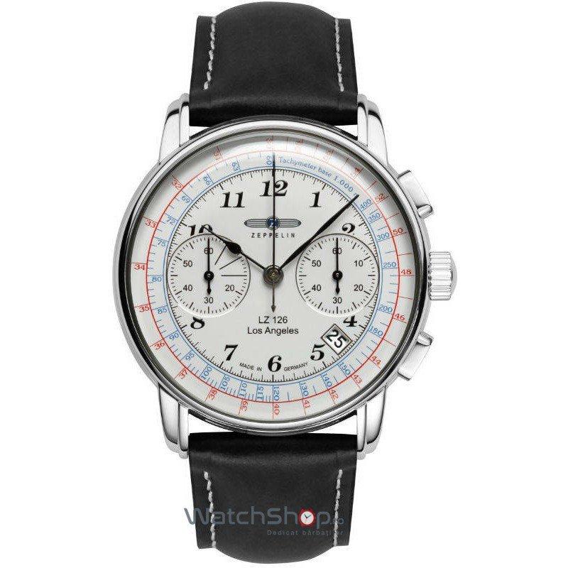 Ceas Zeppelin LZ126 LOS ANGELES 7614-1 Cronograf de mana pentru barbati