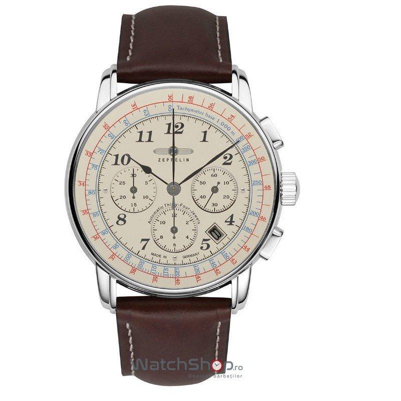 Ceas Zeppelin LZ126 LOS ANGELES 7624-5 Cronograf de mana pentru barbati