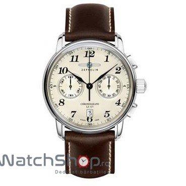 Ceas Zeppelin LZ127 GRAF 7678-5 Cronograf de mana pentru barbati