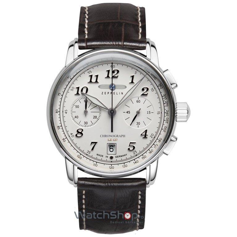 Ceas Zeppelin LZ127 GRAF 8674-1 Cronograf de mana pentru barbati