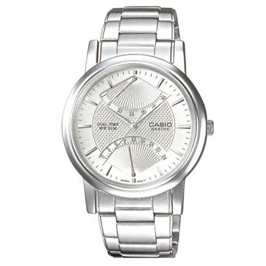 Ceas barbatesc Casio Beside BEM-109D-7AVDF de mana original