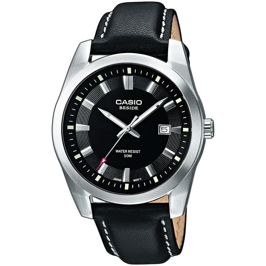 Ceas barbatesc Casio Beside BEM-116L-1AVEF de mana original