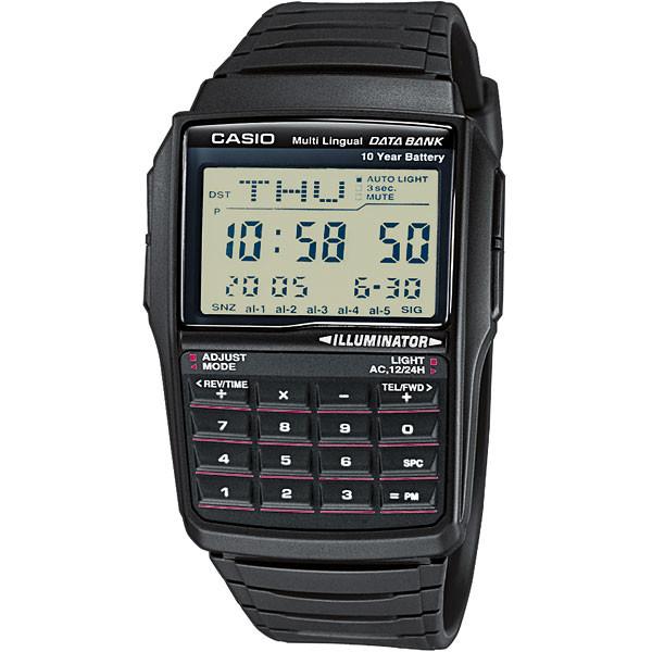 Ceas barbatesc Casio Data Bank DBC-32-1AES de mana original