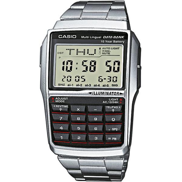 Ceas barbatesc Casio Data Bank DBC-32D-1AES de mana original