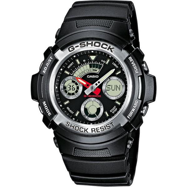 Ceas barbatesc Casio G-Shock AW-590-1AER de mana original