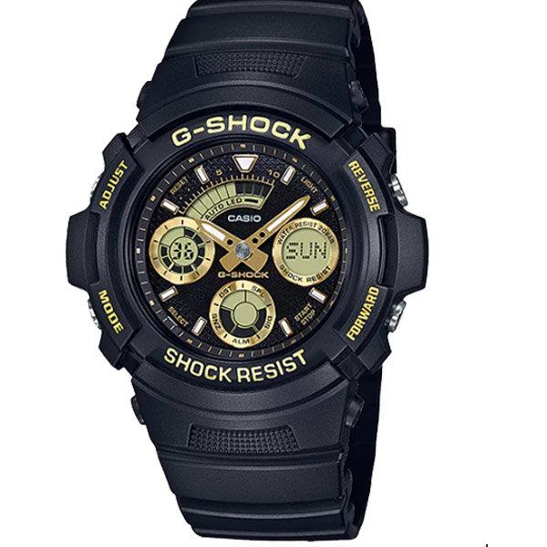 Ceas barbatesc Casio G-Shock AW-591GBX-1A9ER de mana original