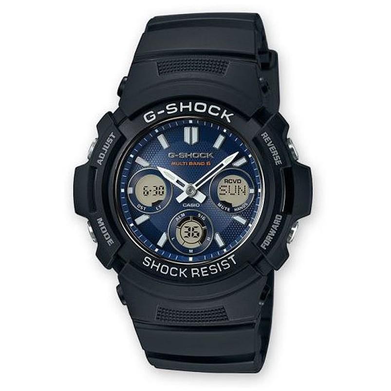 Ceas barbatesc Casio G-Shock AWG-M100SB-2AER de mana original