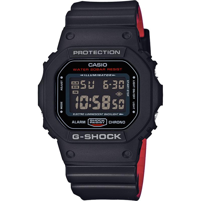 Ceas barbatesc Casio G-Shock DW-5600HR-1ER de mana original