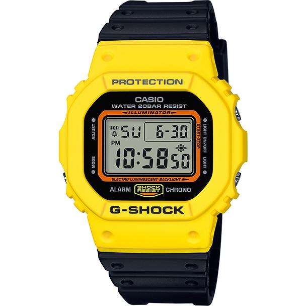 Ceas barbatesc Casio G-Shock DW-5600TB-1ER de mana original