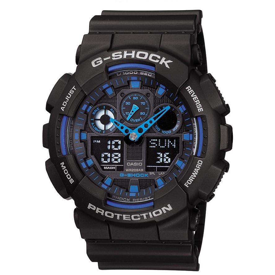 Ceas barbatesc Casio G-Shock GA-100-1A2ER de mana original