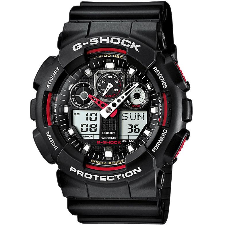 Ceas barbatesc Casio G-Shock GA-100-1A4ER de mana original