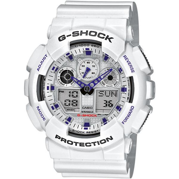 Ceas barbatesc Casio G-Shock GA-100A-7AER de mana original