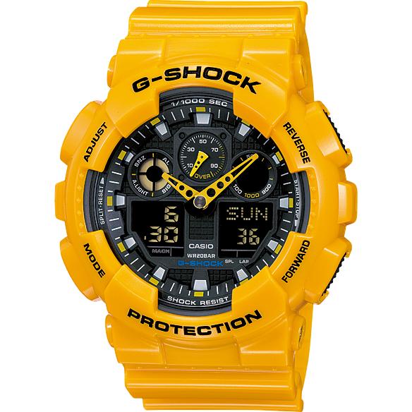 Ceas barbatesc Casio G-Shock GA-100A-9AER de mana original