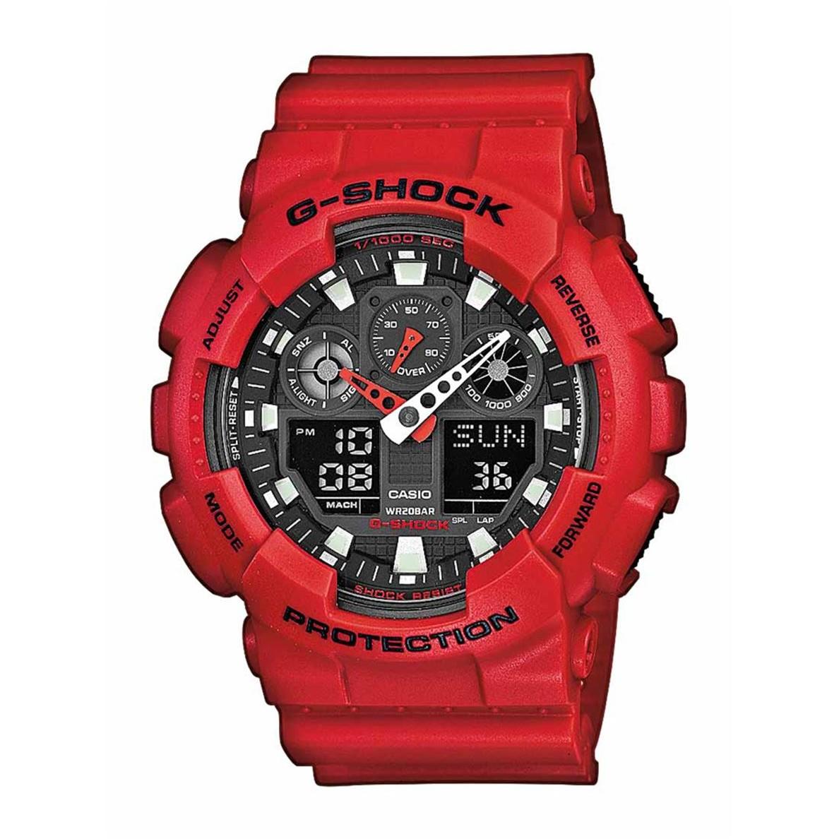 Ceas barbatesc Casio G-Shock GA-100B-4AER de mana original