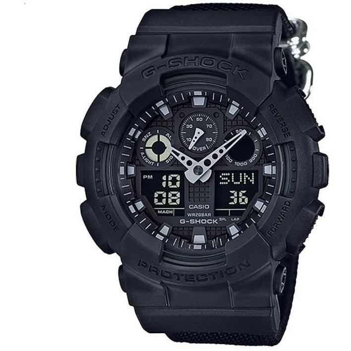 Ceas barbatesc Casio G-Shock GA-100BBN-1AER de mana original