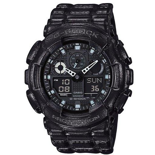 Ceas barbatesc Casio G-Shock GA-100BT-1AER de mana original