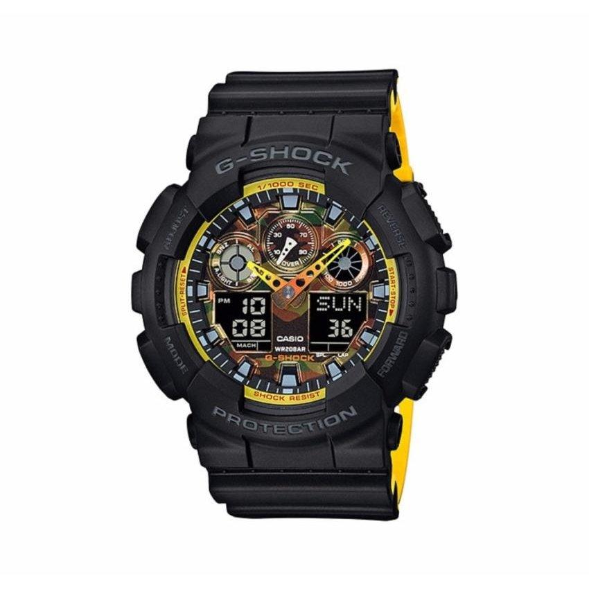Ceas barbatesc Casio G-Shock GA-100BY-1AER de mana original