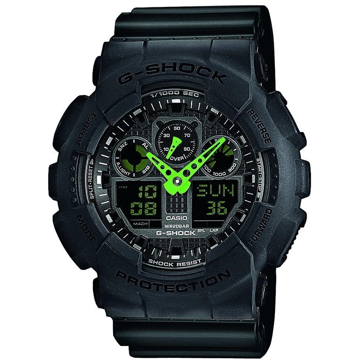 Ceas barbatesc Casio G-Shock GA-100C-1A3ER de mana original