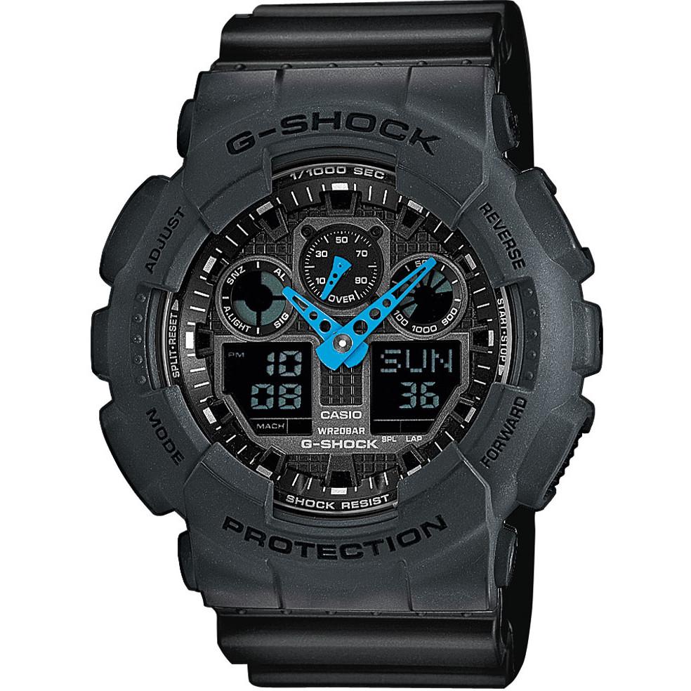 Ceas barbatesc Casio G-Shock GA-100C-8AER de mana original