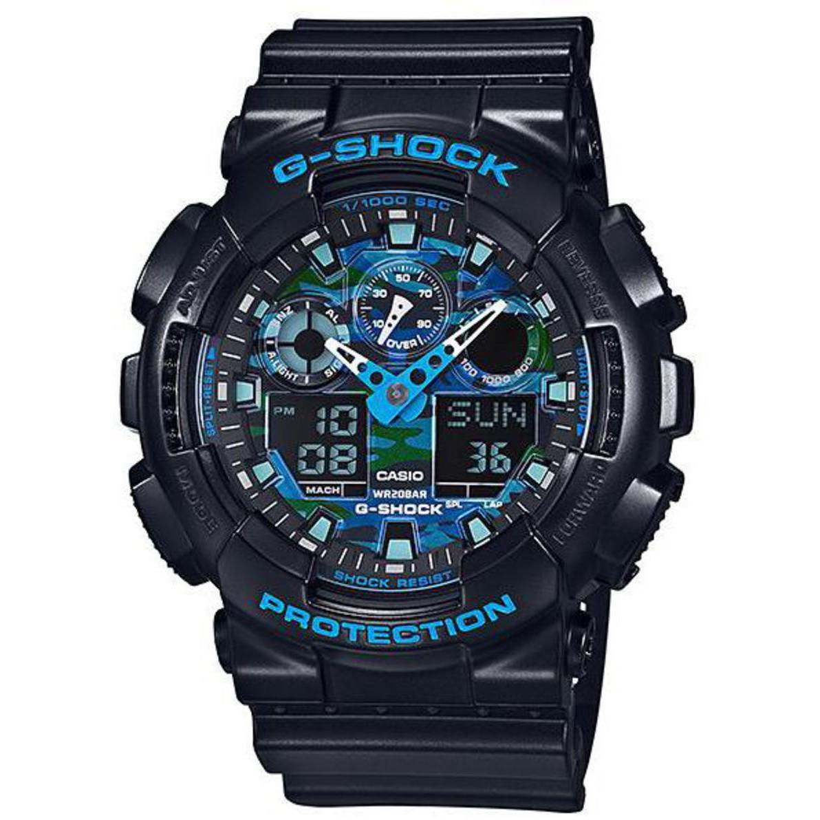 Ceas barbatesc Casio G-Shock GA-100CB-1AER de mana original