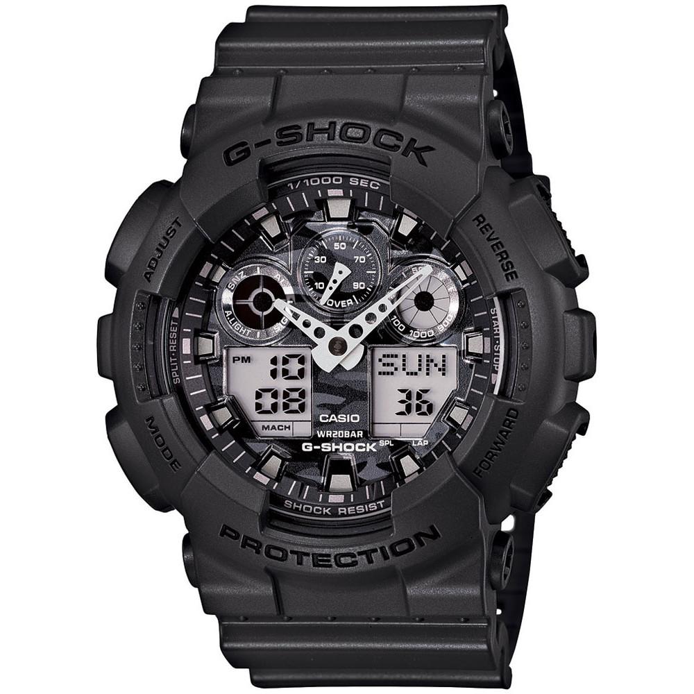 Ceas barbatesc Casio G-Shock GA-100CF-8AER de mana original