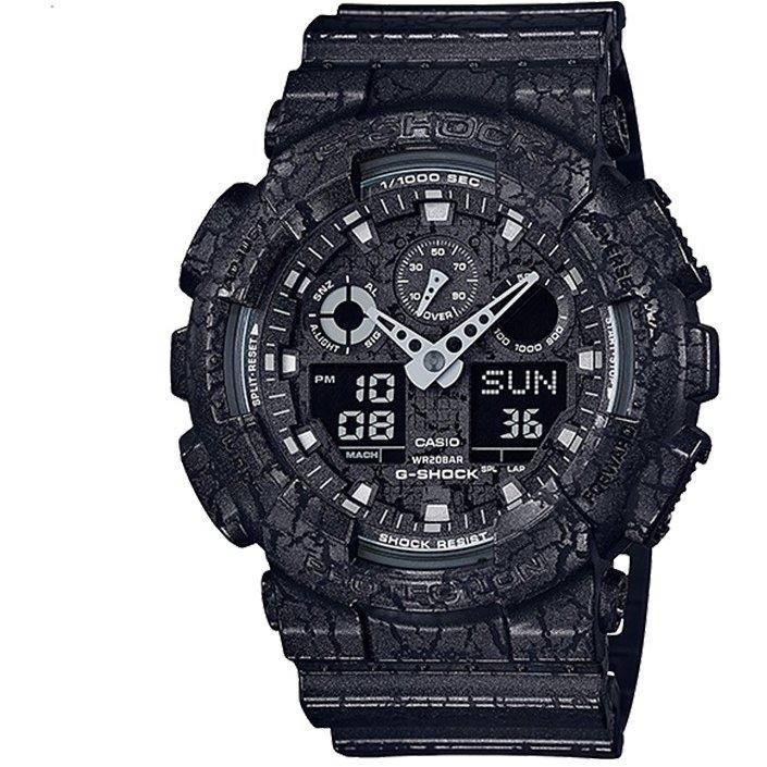 Ceas barbatesc Casio G-Shock GA-100CG-1AER de mana original