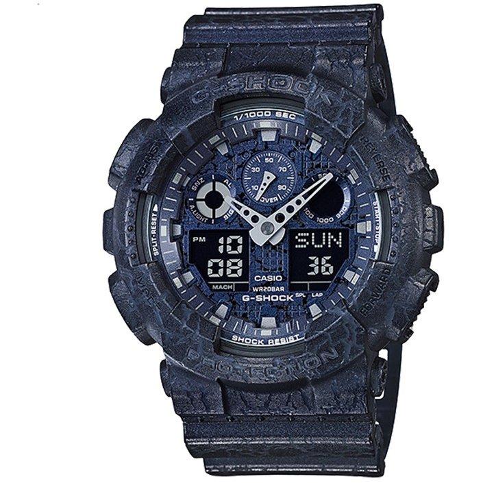 Ceas barbatesc Casio G-Shock GA-100CG-2AER de mana original