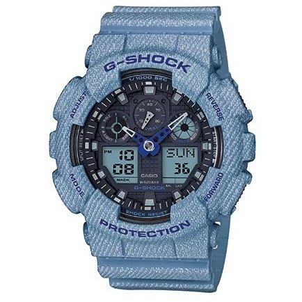 Ceas barbatesc Casio G-Shock GA-100DE-2AER de mana original
