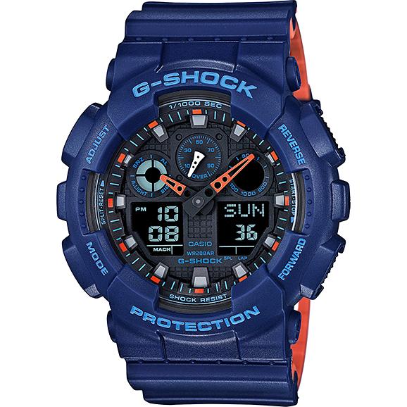 Ceas barbatesc Casio G-Shock GA-100L-2AER de mana original