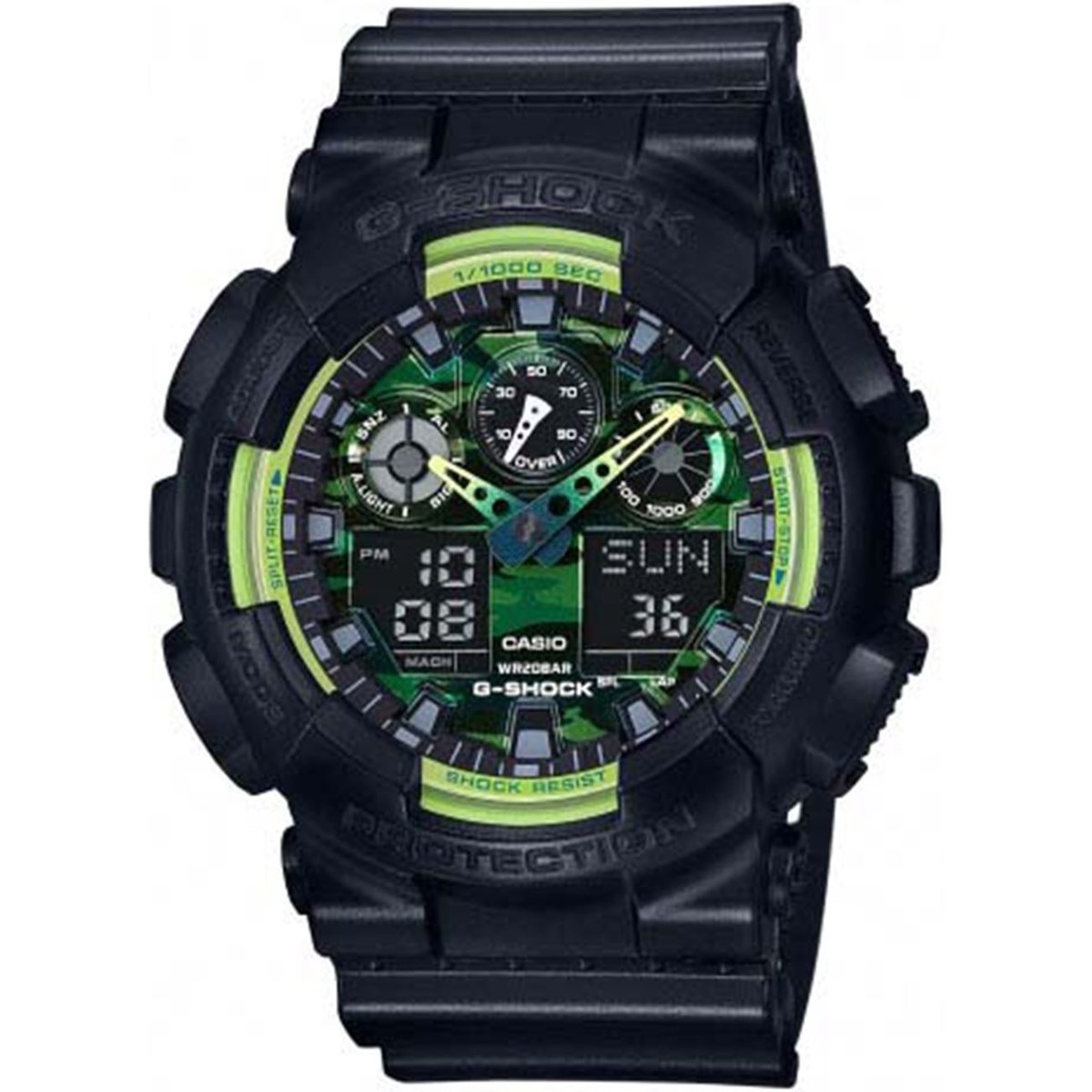 Ceas barbatesc Casio G-Shock GA-100LY-1AER de mana original