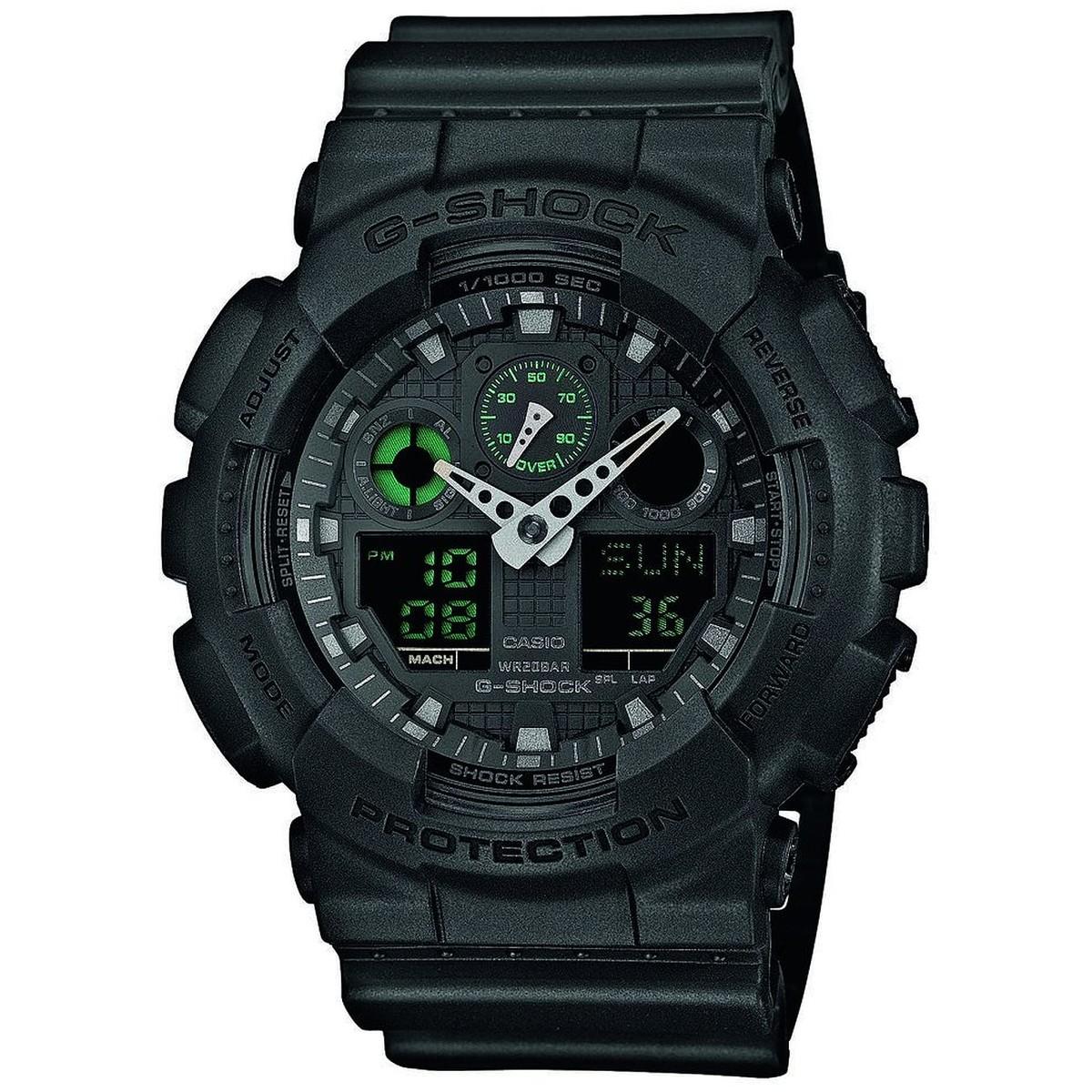Ceas barbatesc Casio G-Shock GA-100MB-1AER de mana original