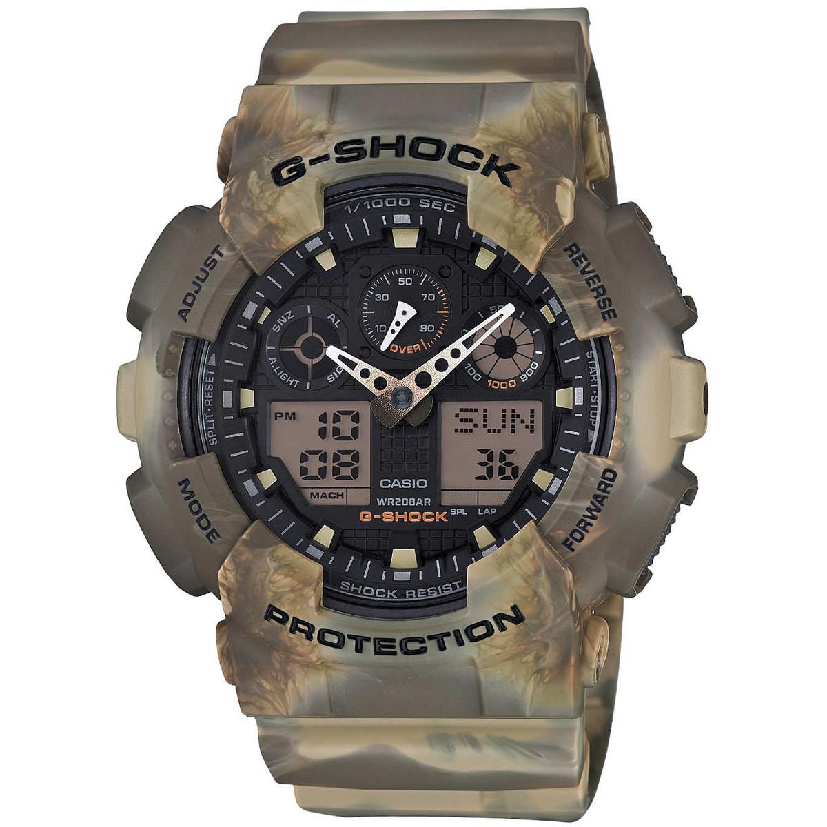 Ceas barbatesc Casio G-Shock GA-100MM-5AER de mana original