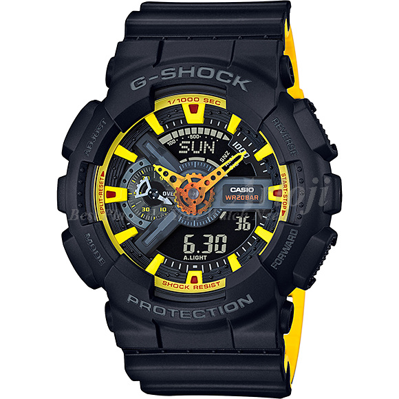 Ceas barbatesc Casio G-Shock GA-110BY-1AER de mana original