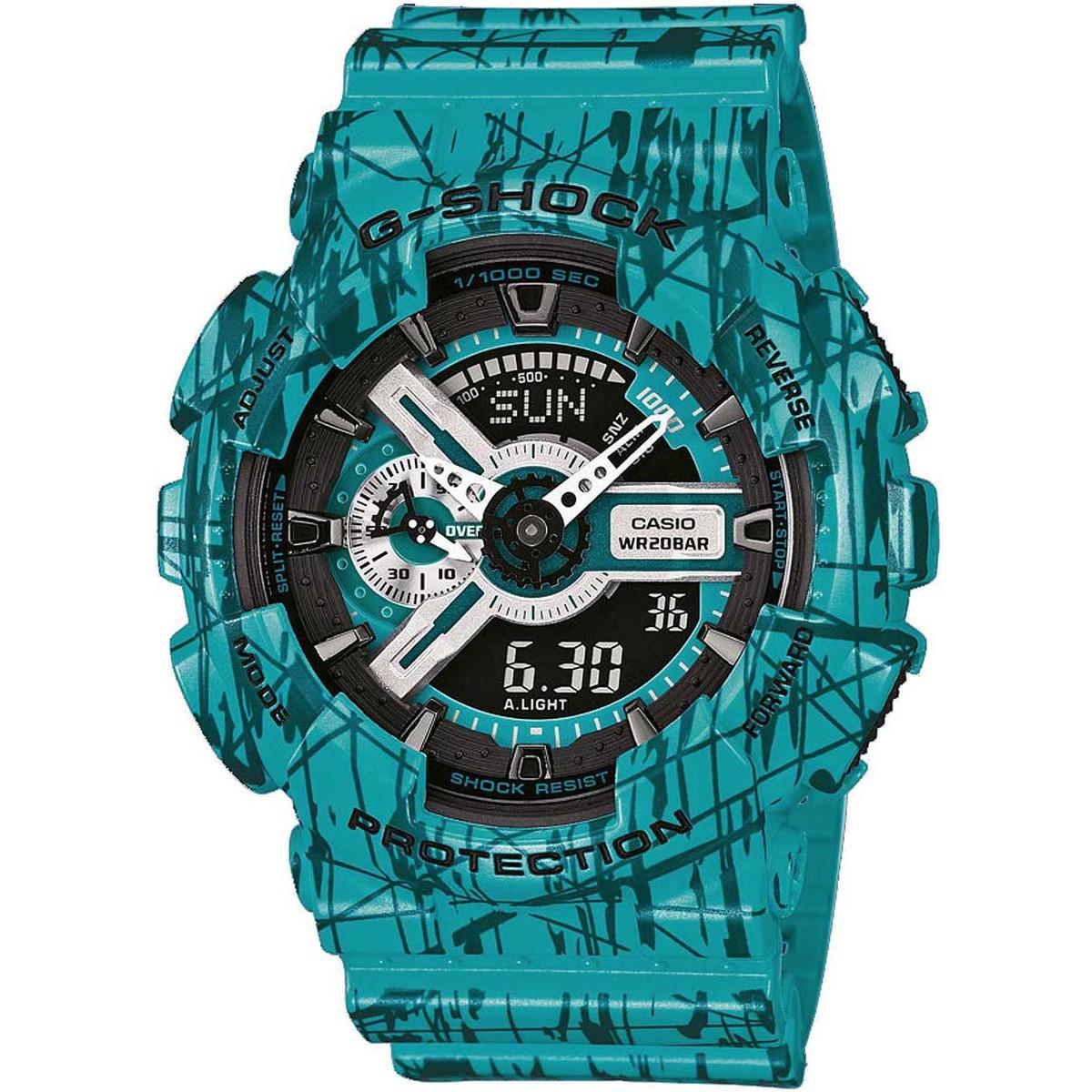 Ceas barbatesc Casio G-Shock GA-110SL-3AER de mana original