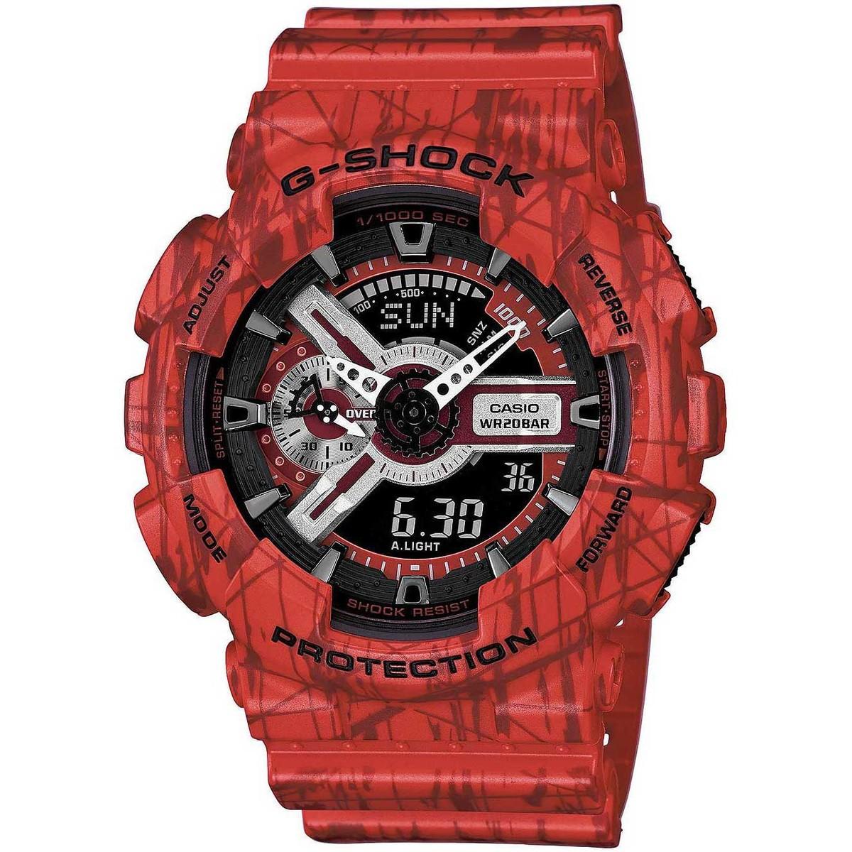 Ceas barbatesc Casio G-Shock GA-110SL-4AER de mana original