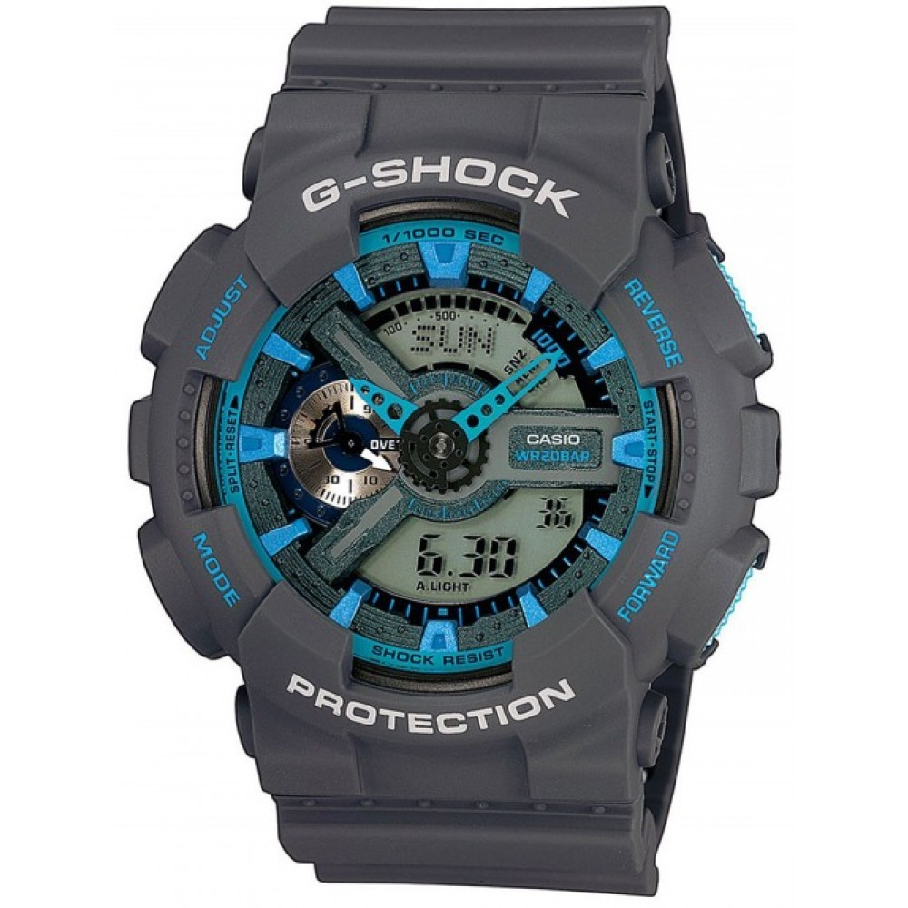 Ceas barbatesc Casio G-Shock GA-110TS-8A2ER de mana original