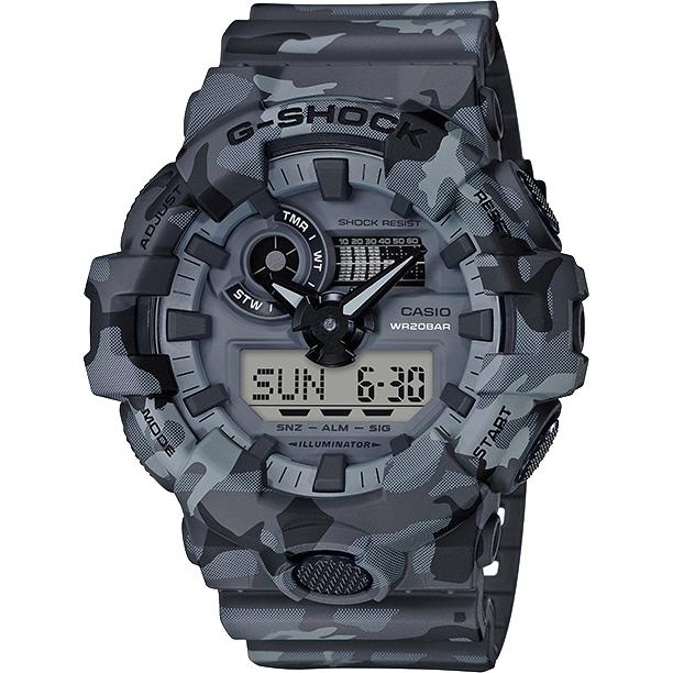 Ceas barbatesc Casio G-Shock GA-700CM-8AER de mana original