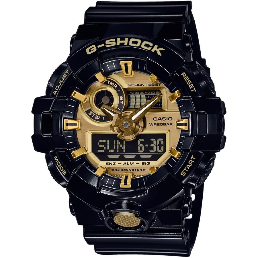 Ceas barbatesc Casio G-Shock GA-710GB-1AER de mana original