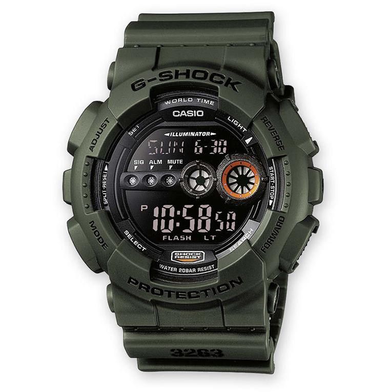 Ceas barbatesc Casio G-Shock GD-100MS-3ER de mana original